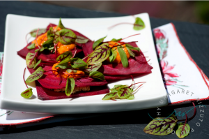 raw beet ravioli-Margaret Rizzuto Photography
